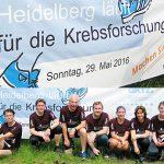Sponsoring und Teilnahme am Heidelberger Lauf für die Krebsforschung